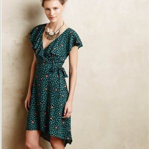 Anthropologie HD in Paris Faux Wrap Dress